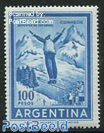 100P, WM13, Stamp out of set
